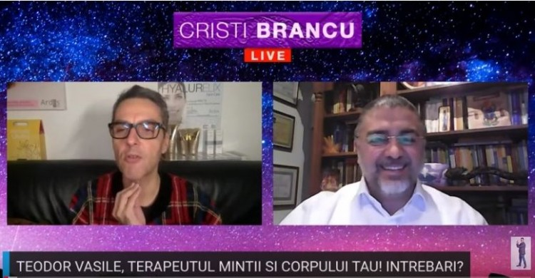Emisiune online - Dr. Teodor Vasile, terapeutul mintii si corpului tau!